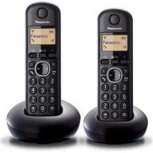 Телефон PANASONIC KX-TGB212 Dect чёрный Duo