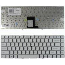 Qoltec Notebook klaviatuur Sony VPC-EA valge