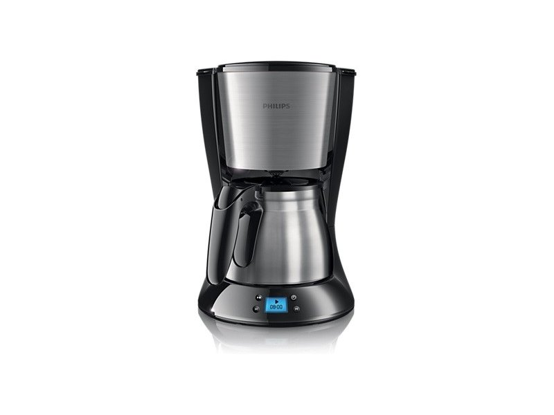 cedfc3dbb9a Philips Daily Collection Coffee maker HD7470 20 With stainless steel jug  black   metal