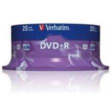 Toorikud Verbatim DVD+R 4.7GB 16X 25er...