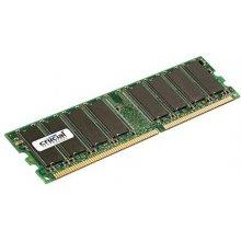Mälu Crucial 1 GB, DDR1, 184-pin DIMM, 400...