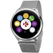 MyKronoz Smartwatch ZeRound Silv...