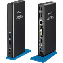 I-TEC USB 3.0 Dual Docking Station HDMI DVI...