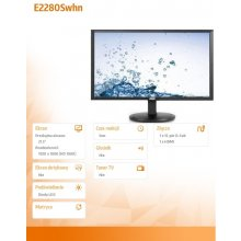 "Монитор AOC 21.5"" E2280Swhn LED HDMI чёрный"