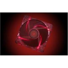 XILENCE CASE FAN 120MM TRANSP 3PIN+4P/RED...