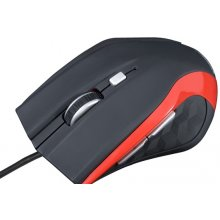Hiir MODECOM Optical Mouse Black MC-M5 Red