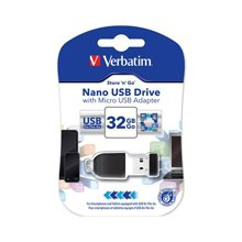 Флешка Verbatim NANO STORE N STAY 8GB USB2.0