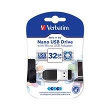 Mälukaart Verbatim NANO STORE N STAY 32GB...