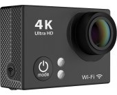 Deltaco H2 action camera, 4K resolution...
