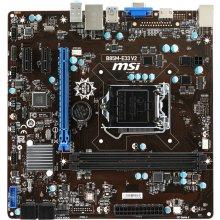 Emaplaat MSI B85M-E33 V2, DDR3-SDRAM, DIMM...