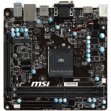 Emaplaat MSI AM1I, AM1, DDR3-1600, SATA3...