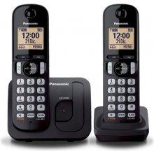 Телефон PANASONIC KX-TGC212 Dect чёрный