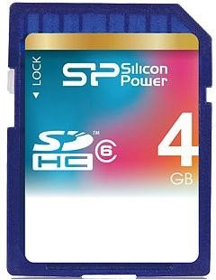 abbf030df04 Mälukaart SILICON POWER SDHC 4GB Class 6 SP004GBSDH006V10 - 01.ee