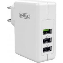 PQI зарядное устройство 2,4A + QC2.0; 3X...