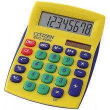 Kalkulaator CITIZEN SDC-450N, kollane