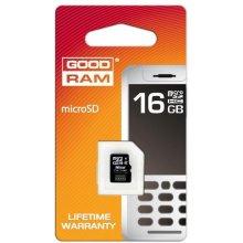 Mälukaart GOODRAM microSDHC Card 16GB SDHC...
