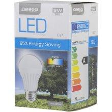 OMEGA LED лампочка E27 9W 3000K (42038)