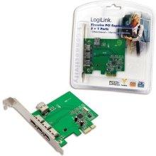 LogiLink 1394 4p PC0030 PCIe
