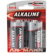 Ansmann 1x2 Alkaline Mono D LR 20...