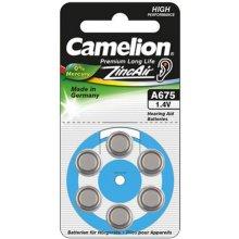 Camelion A675/DA675/ZL675, Zinc air cells, 6...
