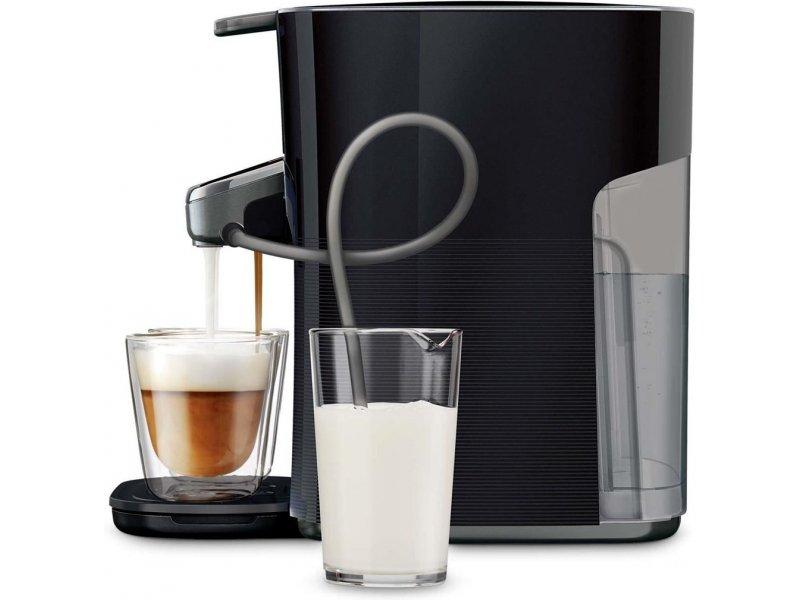 philips hd7855 50 senseo latte duo black gray. Black Bedroom Furniture Sets. Home Design Ideas