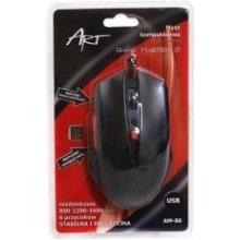 ART оптическая мышь для players AM-86 USB