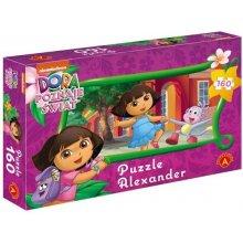 Alexander Puzzle 160 Elementów Dora poznaje...