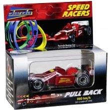 Verschiedene Darda F1 Rennwagen punane/valge