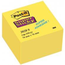 3M Märkmekuup Post-It Super Sticky 76x76 mm...