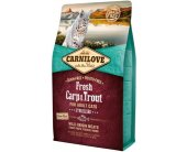Carnilove Fresh Carp & Trout for Adult Cats...