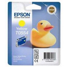 Тонер Epson T0554 чернила Cartridge жёлтый...