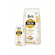 Brit Fresh Chicken & Potato Adult Great Life...