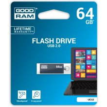 Флешка GOODRAM CUBE 64GB USB2.0 GRAPHITE