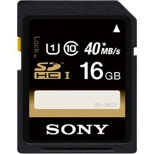 Флешка Sony 16GB SDHC UHS-I Class 4, Secure...