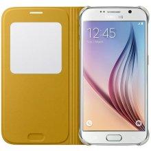 Samsung S-View ümbris PU für S6 kollane