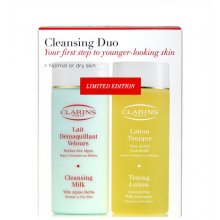 Clarins Cleansing Duo Dry, Cleansin Milk 200...