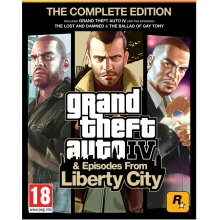 Игра GAME PC GTA 4: The Complete Edition