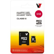 Флешка V7 Micro SDHC 32GB, Micro Secure...
