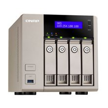 QNAP TVS-463-4G 4x0HDD 4GB 2,4GHz 2LAN...