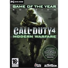 Игра GAME PC CoD 4: Modern Warfare GOTY