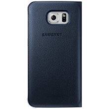 Samsung Flip Wallet PU für S6 edge чёрный
