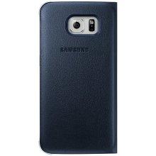 Samsung S6 Edge Flip Wallet Black