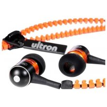 Ultron Kopfhörer In-EAR Xplore zipper, oranž