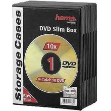 Диски Hama Slim DVD Jewel Case pack of 10...
