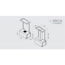 Вытяжка ELICA 70CC ISLAND EVOQUE белый/F/70