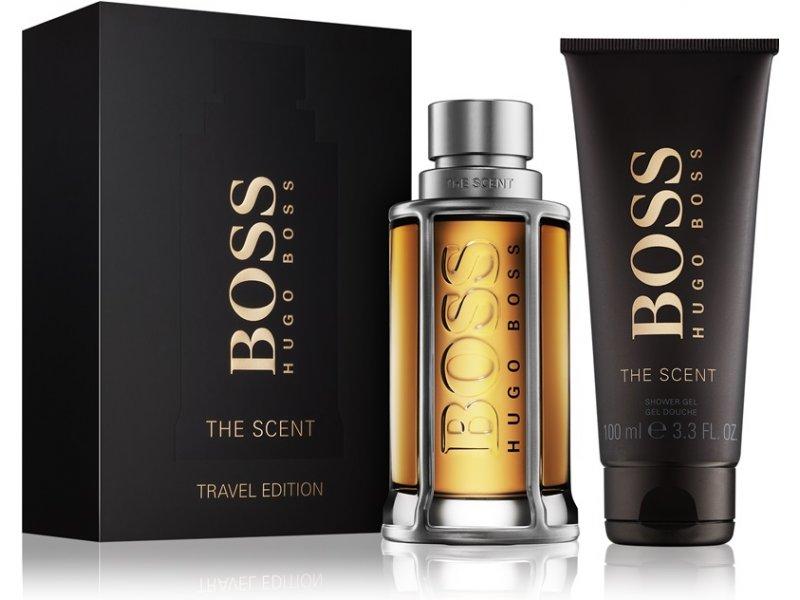 d74e47e4cb70 HUGO BOSS The Scent Set (EDT 100ml + Shower gel 100ml) - perfume set ...