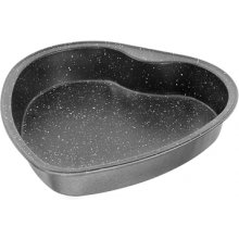 Stoneline 17091 Heart-shaped cake pan, серый