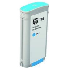 Тонер HP 728 130-ml голубой DesignJet...