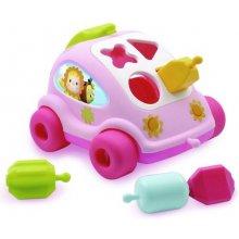 SMOBY Cotoons Samochód sorter różowy