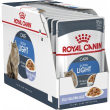 Royal Canin ULTRA LIGHT in Jelly 12x85G...